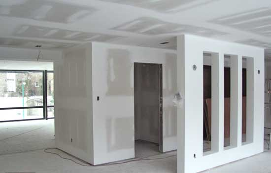 Gypsum Board Of A False Ceiling The Choice Of Water